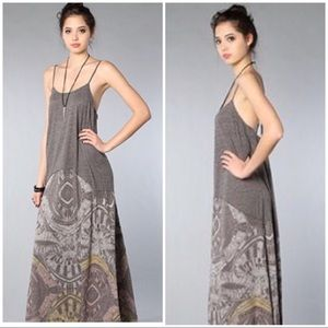 We The Free Blast From The Past Maxi Dress sz XS